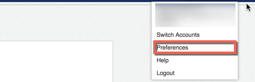 Navigate to your Docusign Preferences