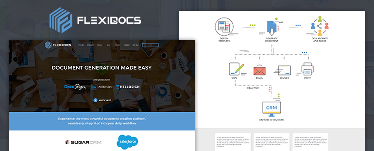 Welcome to our new Flexidocs website
